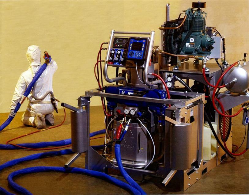 Аппарат для напыления пенополиуретана своими руками